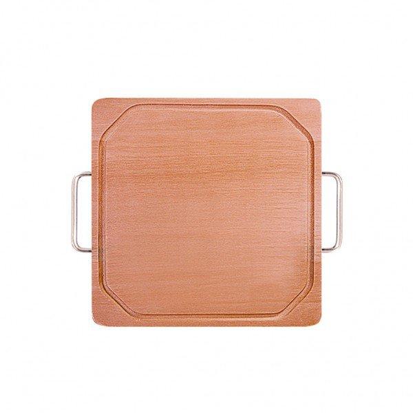 frente tabua de madeira quadrada com cabo 3401