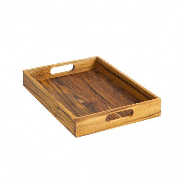 frente bandeja de madeira teca 2101p