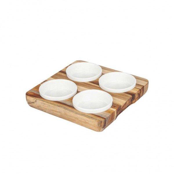 frente petisqueira quadrada com porcelana 12001