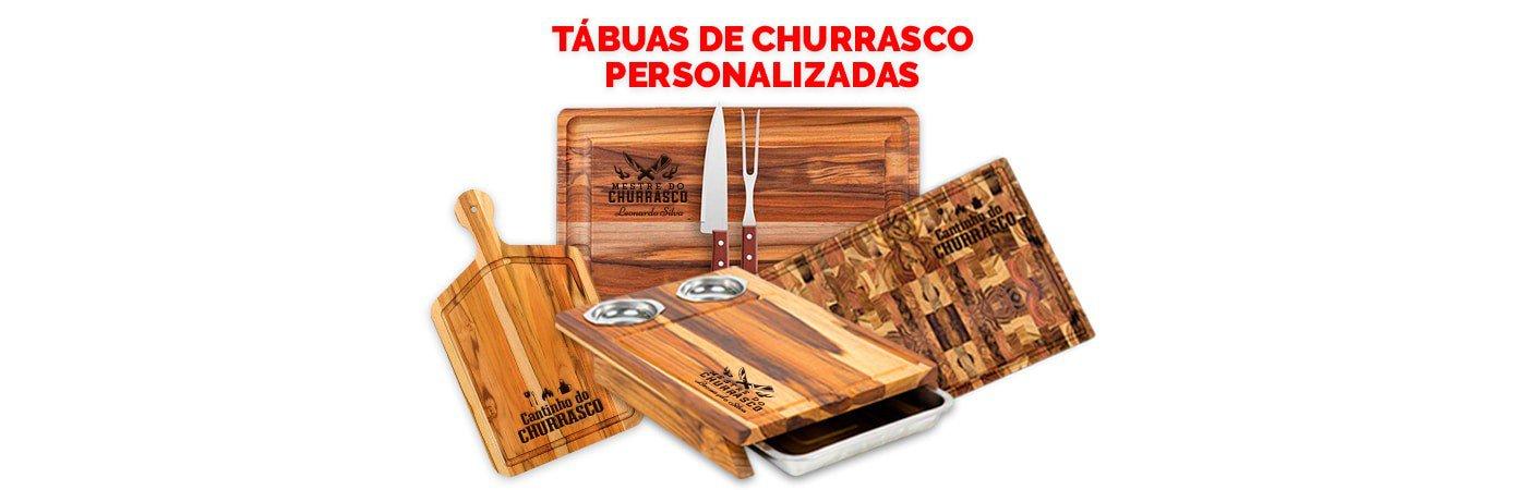 Tábua de Churrasco Personalizada
